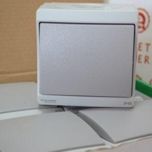 ENN35723 Переключатель на два направления, серый в сборе IP55