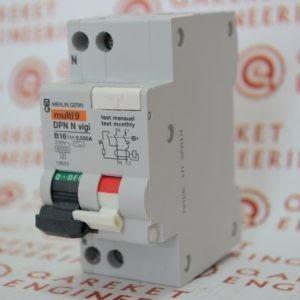 Арт.19655 — Автоматический выключатель дифференциального тока Merlin Gerin Multi9