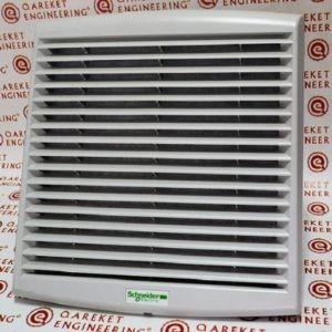 Вентилятор с фильтром приточный Schneider (NSYCVF165M48DPF) Uпит: DC 48В. Класс защиты: IP54/Ventilation system