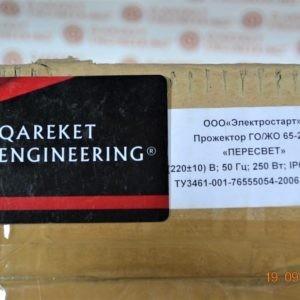Прожектор ГО/ЖО 65-250 250Вт E40 IP65 симметр. черн. Пересвет В00000058