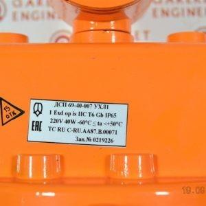 Светильник ДСП-69-40-003 взрывозащищенный