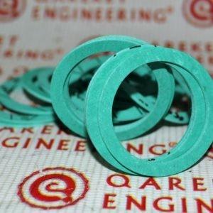 Зеленые композитные составные шайбы/Green composite washers CAP239010