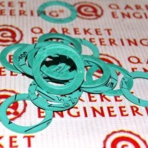 Зеленые композитные составные шайбы/Green composite washers CAP222045