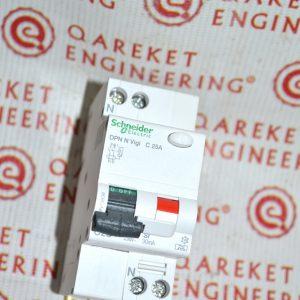 Дифференциальный автоматический выключатель DPN N VIGI 6КА 25A C 30МA Asi Shneider Electric