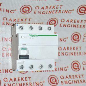Дифференциальный выключатель нагрева iID 4P 63A 30мА AC-ТИП Shneider Electric