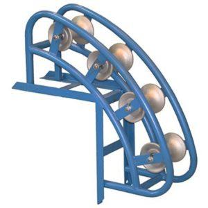 РНУ4/120AL Ролик направляющий угловой для кабеля d до 120мм, AL валик